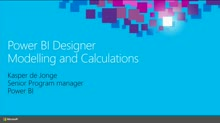 Advanced Modeling and Calculations Using the Microsoft Power BI Designer