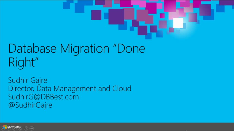 "Database Migrations ""Done Right"""