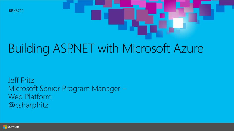 Building ASP.NET with Microsoft Azure
