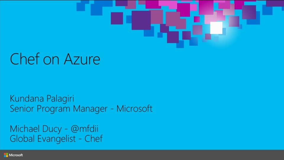 Managing Linux and Windows on Microsoft Azure with Chef