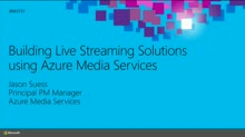 Building a Live Streaming Solution using Azure Media Services