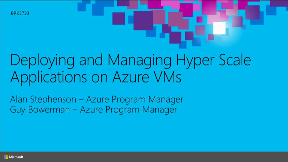 Developing Hyper Scale Applications on Microsoft Azure
