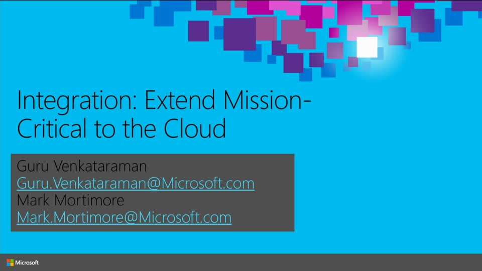 Integration: Extend Mission-Critical to the Cloud