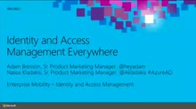 Identity and Access Management Everywhere