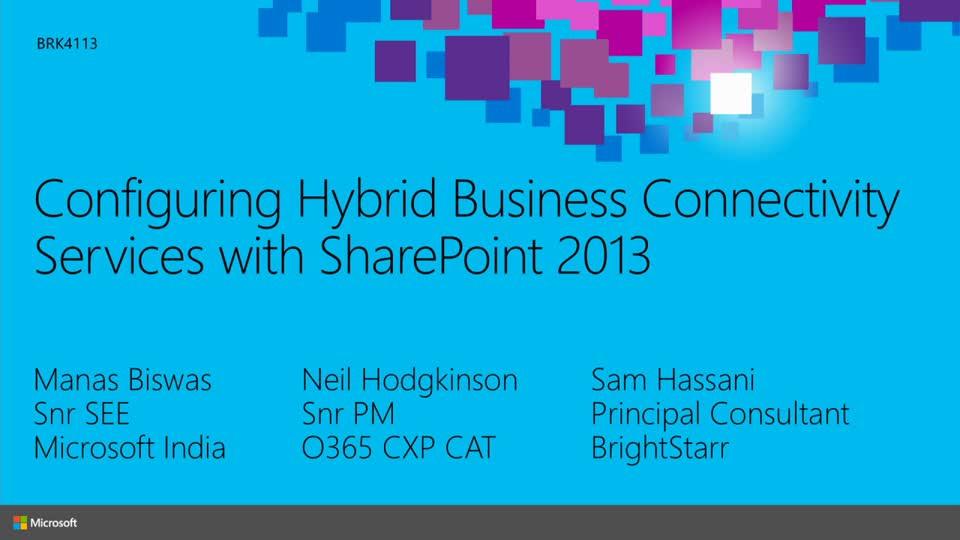 Hybrid Business Connectivity Services with SharePoint Online