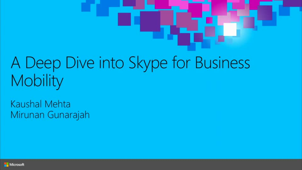 A Deep Dive into Skype for Business Mobility