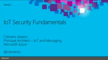 IoT Security Fundamentals