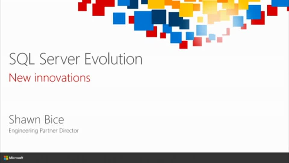 The SQL Server Evolution