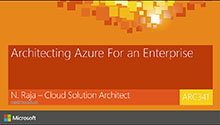 Possible ways of Architecting Azure Solution for an Enterprise