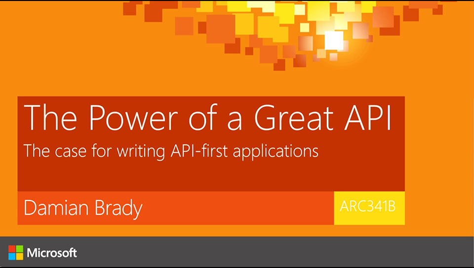 The Power of a Great API: The case for writing API-first applications