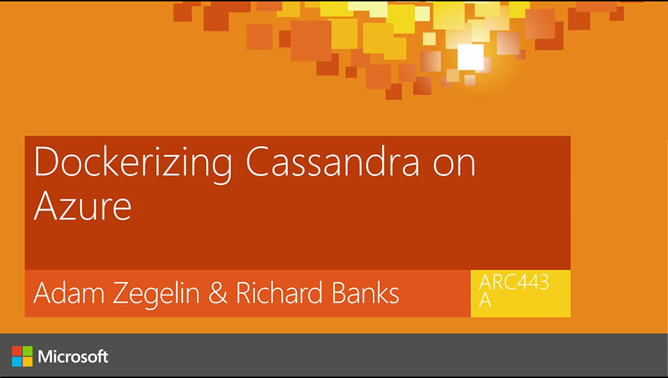Dockerizing Cassandra on Azure