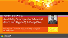 Availability Strategies for Microsoft Azure and Hyper-V, A Deep Dive