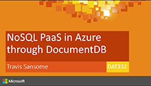 NoSQL PaaS in Azure through DocumentDB - The Real Deal