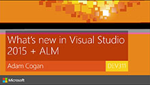What's new in VS 2015, ASP.NET and ALM 2015