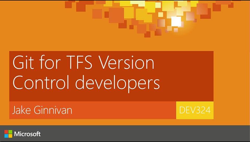 Git for TFS Version Control developers