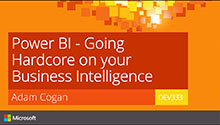 Going Hardcore on your Business Intelligence with Power BI