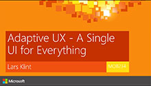 Adaptive UX - A Single UI for Everything