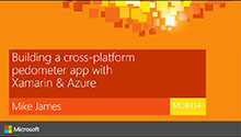 Building a cross-platform pedometer app with Xamarin & Azure