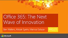 Office 365 - The Next Wave of Innovation