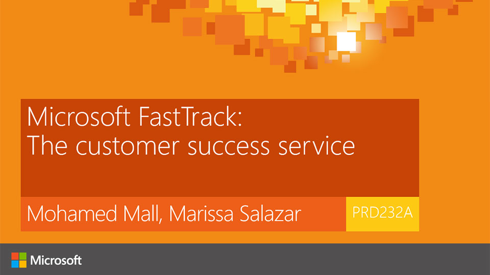 Microsoft FastTrack: The customer success service