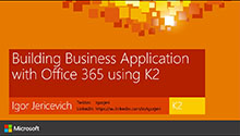 Build Business Apps with Office 365 and other Line of Business Systems