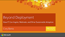 Beyond Deployment: How IT Can Inspire, Motivate, and Drive Sustainable Adoption