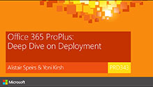 Office 365 ProPlus deployment deep dive