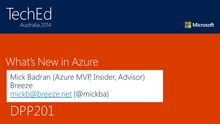 What's New In Azure