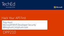 Hack Your API First