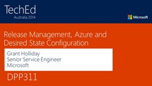 Deploying to Azure with Release Manager, Visual Studio and PowerShell Desired State Configuration