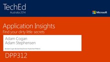 Application Insights: A Private Investigator for your Application