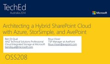 Architecting a Hybrid SharePoint Cloud with Azure, StorSimple, and AvePoint