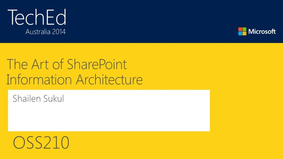 The Art of SharePoint Information Architecture
