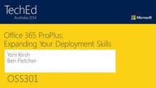 Microsoft Office 365 ProPlus Deployment