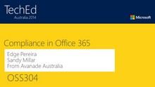 Regulatory Compliance and Microsoft Office 365
