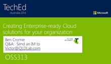 Creating Enterprise-ready Cloud solutions for your organization