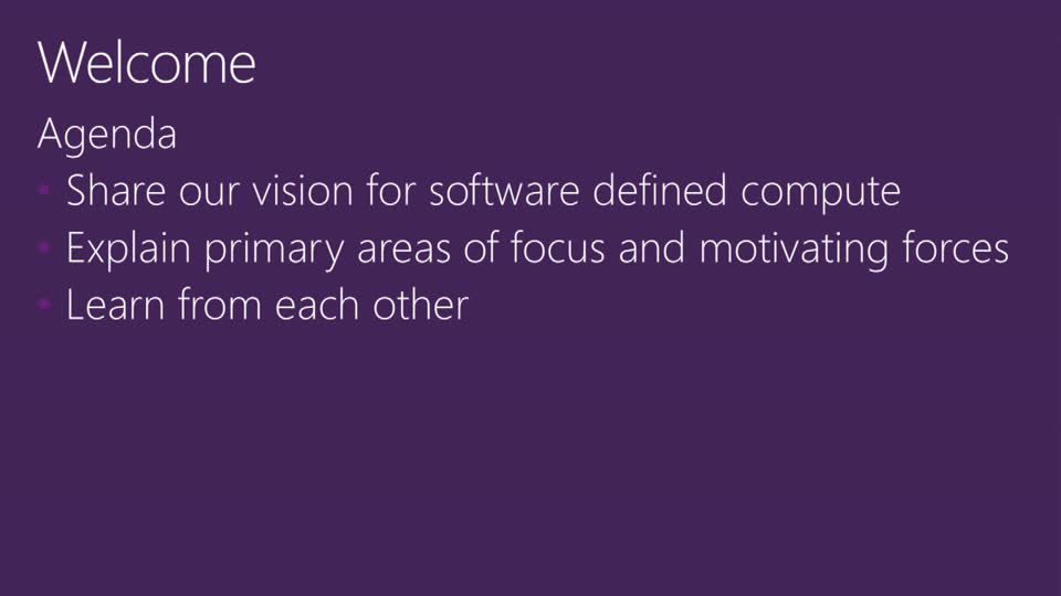 Software Defined Compute in the Next Release of Windows Server Hyper-V