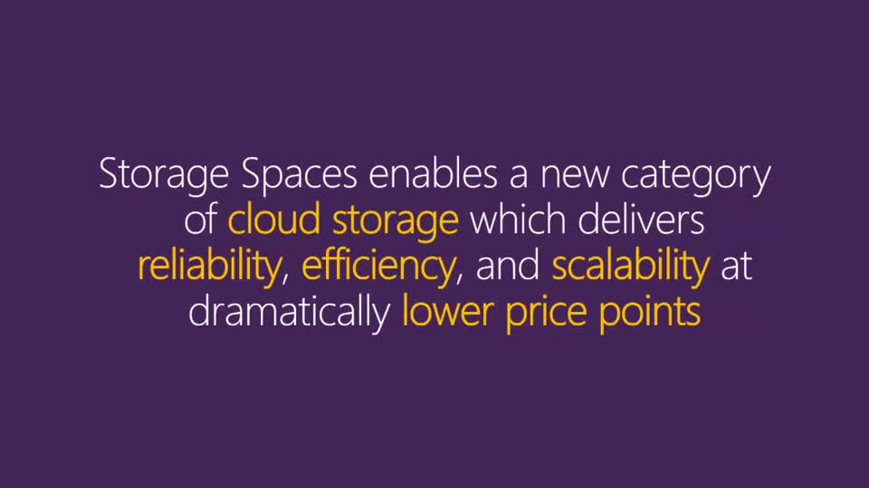 Using Tiered Storage Spaces for Greater Performance and Lower Costs