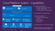 Architectural Deep Dive into the Microsoft Cloud Platform System