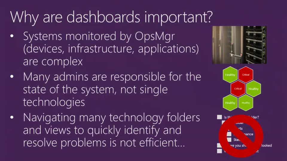 Building Highly Effective Dashboards in System Center 2012 R2 Operations Manager