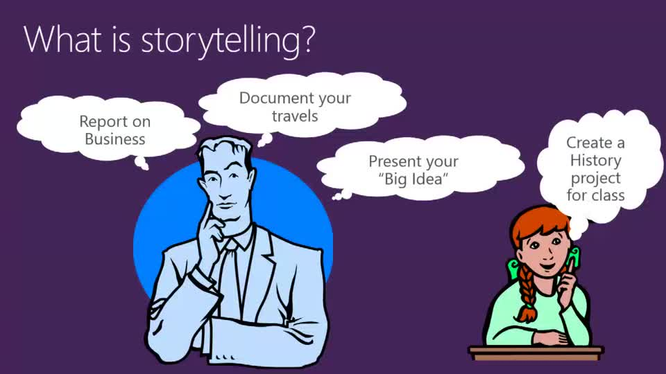 Interactive Storytelling with Microsoft Office