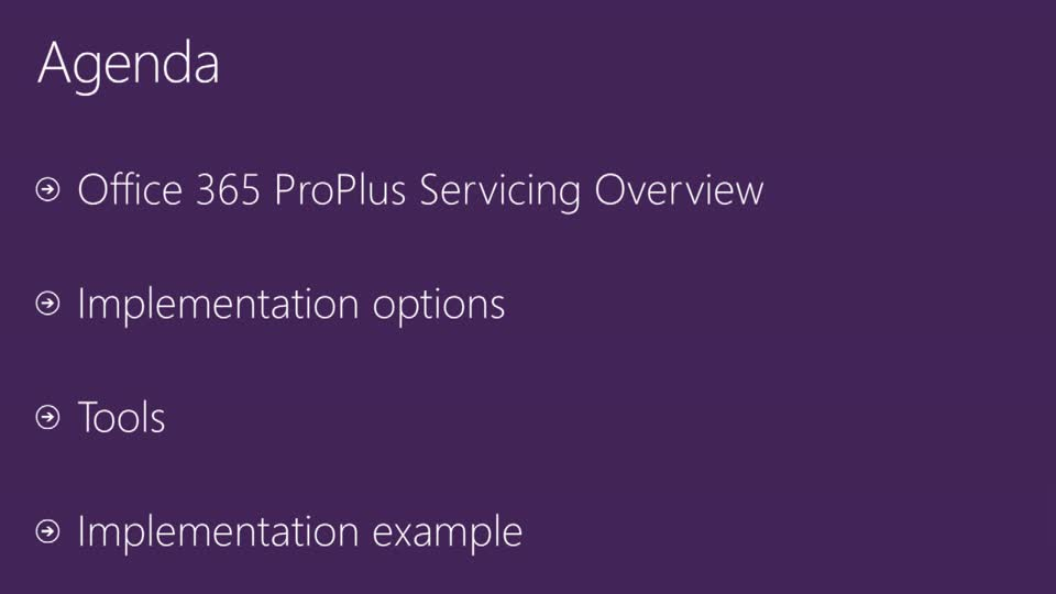 Working through Office 365 ProPlus Monthly Updates