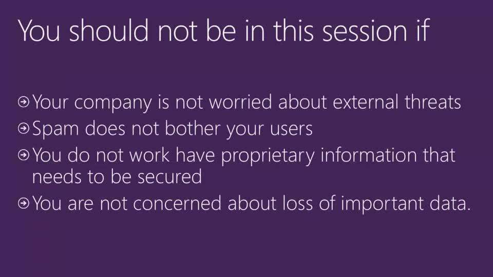 Data Secrecy, Spam, Virus, Malware Concerns? Office 365 Has You Covered!