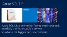 Protecting Your Data in Windows Azure SQL Database