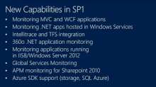 What's New in Microsoft System Center 2012 SP1