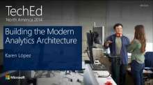 Building the Modern Analytics Architecture: HDInsight and Power BI