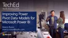 Improving Power Pivot Data Models for Microsoft Power BI