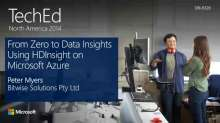 From Zero to Data Insights Using HDInsight on Microsoft Azure