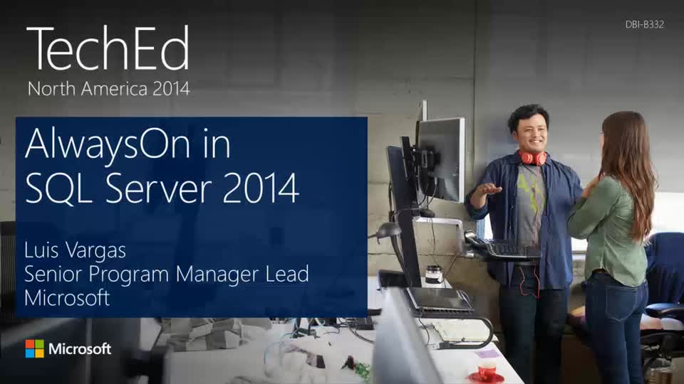 AlwaysOn in Microsoft SQL Server 2014