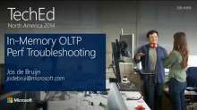 Microsoft SQL Server 2014: In-Memory OLTP Performance Troubleshooting